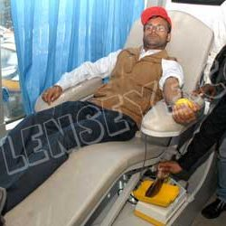 Blood Donation camp by The Institute of Cost Accountants of India