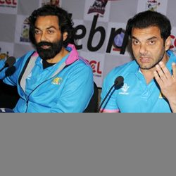 Suhail Khan & Bobby Deol in Ranchi.