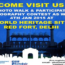 Photo Walk & Photography contest by AIPTIA on 4th Jan 2015 at Delhi.