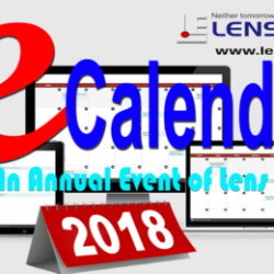 Lens Eye's  e-Calender 2018 :: Few Hours Left : Send your entries soon