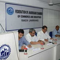 Meeting by Federation of Jharkhand Chamber of Commerce & Industries.