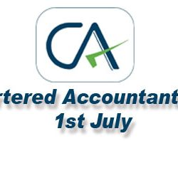 Chartered Accountant day :: 1st July