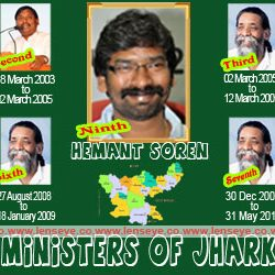 Chief Ministers of Jharkhand.