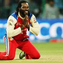 First time in IPL : Fastest Century : Chris Gayle, RCB [ 175* in 66 balls ]