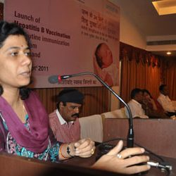 Launch of Hepatitis B