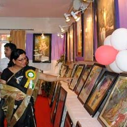 Kriti Utsav 2012 [ An Art Exhibition by Dr. Yashodhara Rathore ]