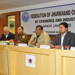 Meeting at Federation of Jharkhand Chamber of Commerce & Industries