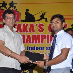 Renshi Sunil Kispotta was awarded by All India Karate Do Fedration in Delhi.