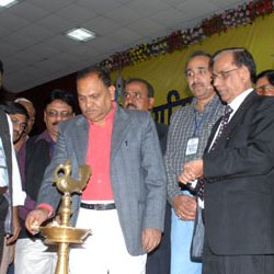 Grand Inaguration of NUJ[I] Summit in Ranchi.