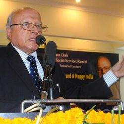 2nd JRD Tata Memorial Lecture on Agriculture, Food Security, & a Happy India