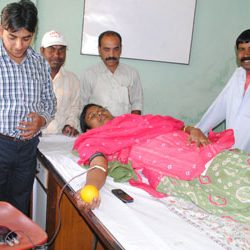 Blood Donation Camp by Centre of Education