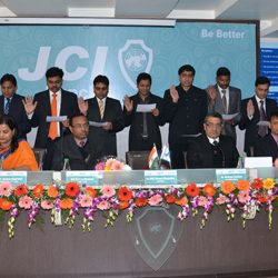Installation ceremony of JCI