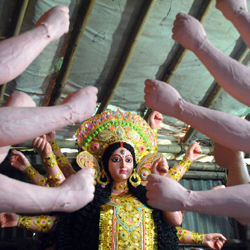 Durga Puja – 2016 :: The Final touch.