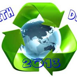 Earth Day : 22 April.