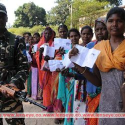 Jharkhand Vidhansabha Election : Third Phase :: Tight security arrangement