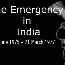 Thirty Eight Years of Indian Emergency [ 26th of  June 1975 ]