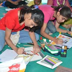 Painting Competition in Expo-2012