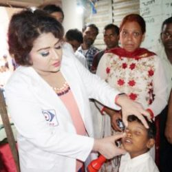 Jharkhand :: A Free eye checkup camp at Sitadih village in Anigara, Khunti.