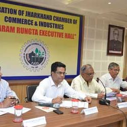 Meeting of Federation of Jharkhand Chamber Of Commerce & Industries [ FJCCI ]