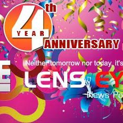 Lens Eye's 4th Anniversary : Thank you all for Lifting us even Higher than we fly.