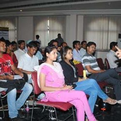 Seminar on Careers in Animation & Visual Effects.