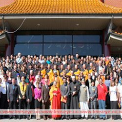 Interfaith day of Prayers for Unity, Harmony and Preservation of our Globe at Fo Guang Shan Temple, Toronto.