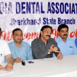 Press Conference by India Dental Association