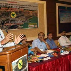 Seminar on Impact of Mining, Urbanisation, Industrialisation on Water Resources of Jharkhand.