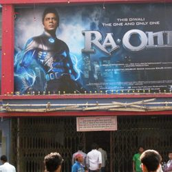 RA-One on Silver Screen