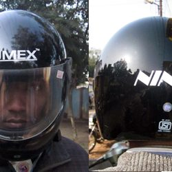 ISI marked, full Helmet is essential to drive in Ranchi