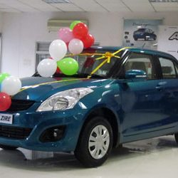 Maruti Swift Dzire, launched in Ranchi.