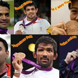 Indian Heroes of London Olympics – 2012.