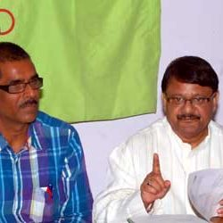 Press Conference of Jharkhand Olympic Association