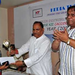 Prize distribution ceremony for CBSE XII [Accountancy toppers ]