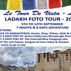 Ladakh Foto Tour – 2013 by IIPC from 5th to 12th of September.