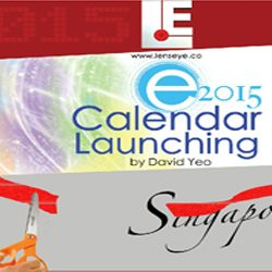 Lens Eye's  e – calender Launched in Singapore.