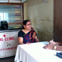 Free Homoeopathic Clinic by Lions Club of Ramgarh Cantt