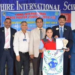 Peace Poster Contest in Sapphire International School.