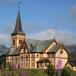 Old Church of Norway – Lofot Cathedral [ 1898 ]