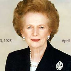 First Lady Prime Minister of Britain, Margaret Thatcher passes away