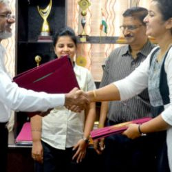 MOU between Jharcraft and Bangalore Fort Limited