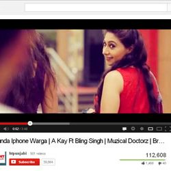 "Punjabi Song ""Munda Iphone Warga"",  Released on You Tube."