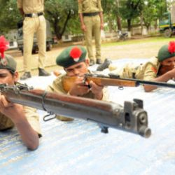 Training Session ofNational Cadets Corps