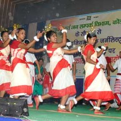 Cultural Programme by Information & Public Relations Department, Koderma
