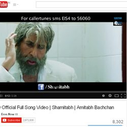 Amitabh Bachchan sings Official Full Song Video, Piddly of 'Shamitabh'.