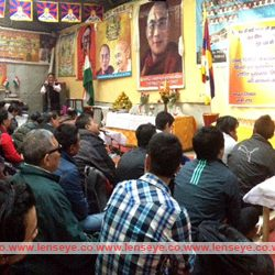 Prayer by Potala Tibetean Sweater Market Sangh on Occassion of International Human Rights Day.