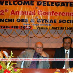 Inauguration of 12th Annual Conference of Ranchi OBS & GYNAE Society.