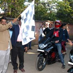 Road Show by IIM for 3rd ODI, India Vs England, JSCA Stadium at Ranchi.