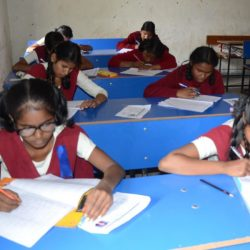 Students appeared for class 8th Jharkhand Academic Council (JAC) Board examinations
