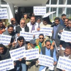 Jharkhand Assembly : Second day of Budget session :: Protest by opposition